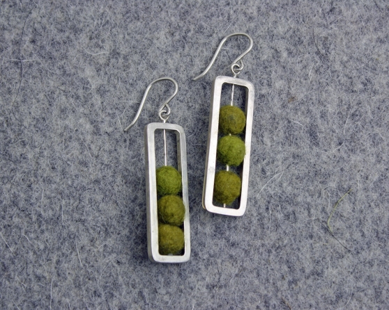 Cara's Abacus Earrings for a Line Sheet